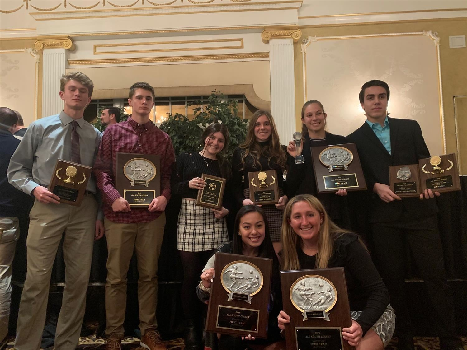 CHPS Students with Athletic Awards