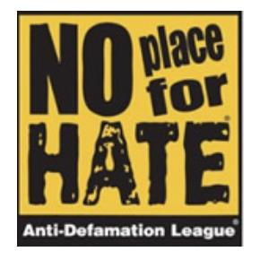 No Place for Hate, Anti-Defamation League
