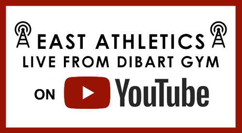 East Athletics Live from DiBart Gym on YouTube