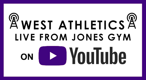 West Athletics Live from Jones Gym on YouTube